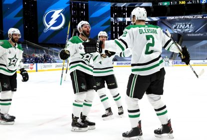 Khudobin fecha o gol e Stars batem Lightning no jogo 1 da final da Stanley Cup - The Playoffs