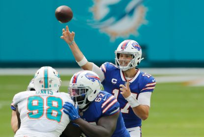 Com show de Josh Allen, Bills vencem Dolphins fora de casa - The Playoffs