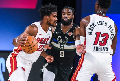 Com relógio zerado, Heat derrota Bucks e abre 2 a 0 na série - The Playoffs