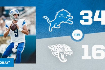 Swift joga bem, Lions vencem Jaguars e respiram na temporada - The Playoffs