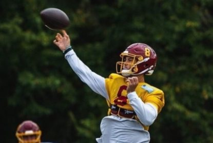 Washington escolhe Kyle Allen como quarterback inicial na semana 5 - The Playoffs