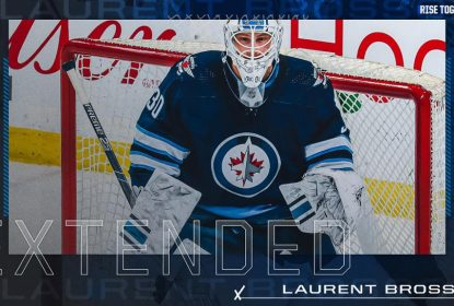 Winnipeg Jets assina extensão de um ano com Laurent Brossoit - The Playoffs