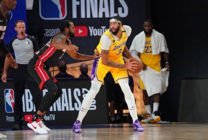 Anthony Davis faz grande jogo, Lakers dominam Heat e abrem 1 a 0 na final da NBA - The Playoffs