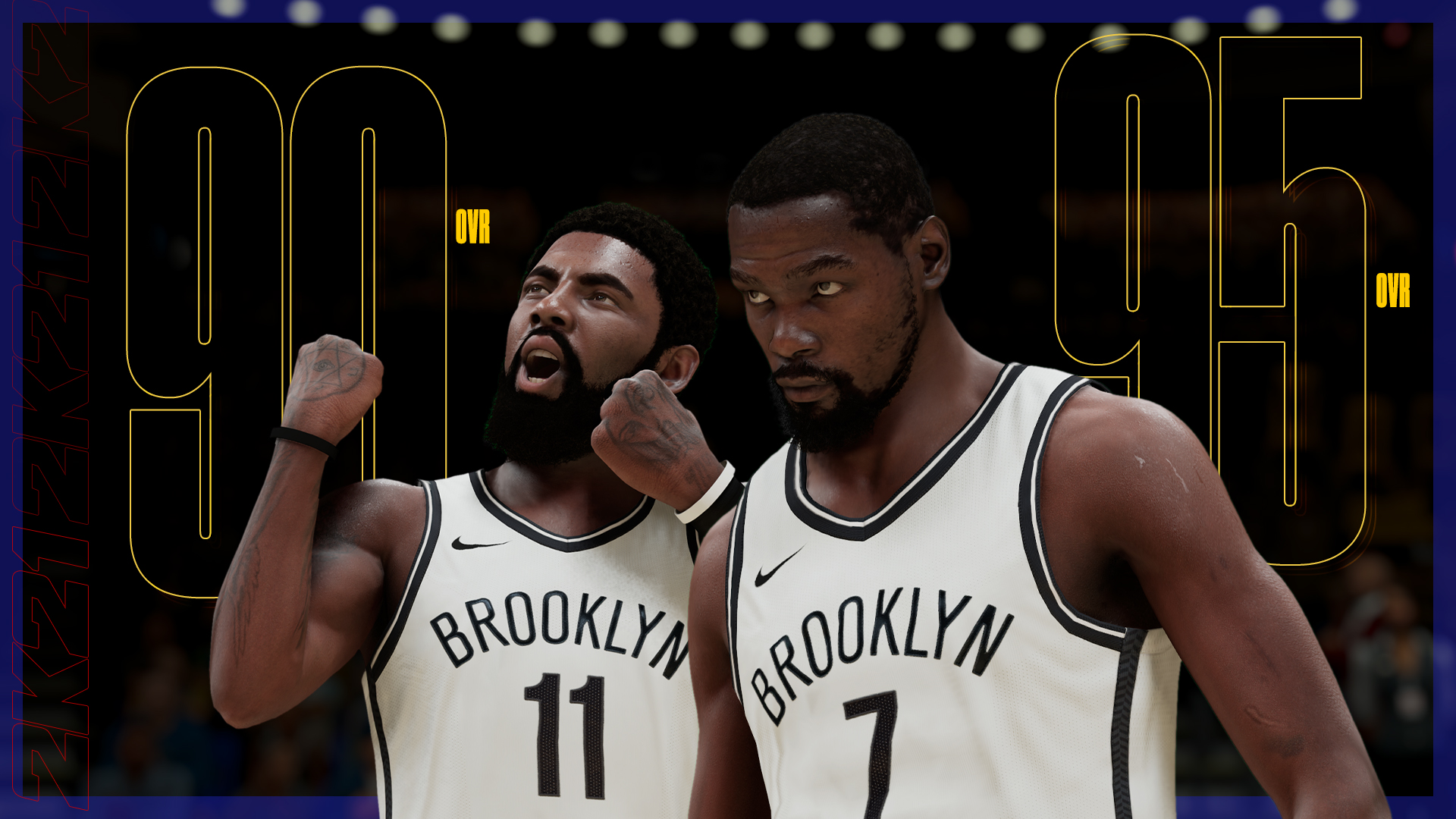 Kyrie Irving - Kevin Durant - NBA 2K21