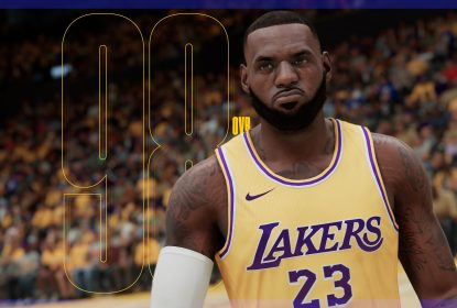 LeBron James é o jogador com rating mais alto no NBA 2K21 - The Playoffs