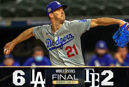 Dodgers dominam Rays no jogo 3 da World Series e abrem 2-1 - The Playoffs