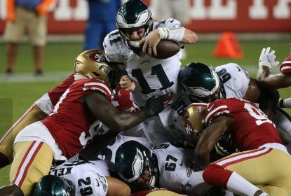 Eagles surpreendem, vencem 49ers e assumem liderança da NFC Leste - The Playoffs