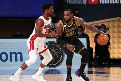 Com triplo-duplo de Butler, Heat estraga festa dos Lakers e adia decisão do título da NBA - The Playoffs