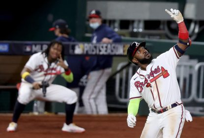 Braves anotam 6 corridas na 6ª entrada, vencem Dodgers e estão perto da World Series - The Playoffs