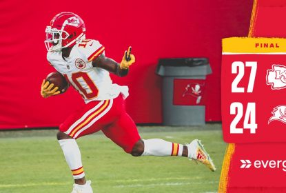Buccaneers ameaçam no final, mas Chiefs vencem fora de casa - The Playoffs