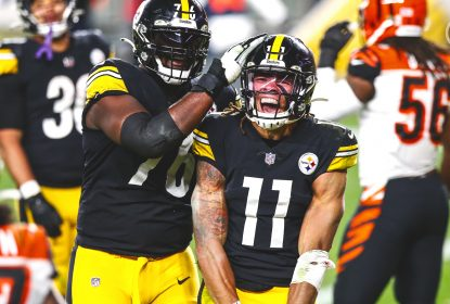 WR Chase Claypool vira desfalque para embate contra os Packers - The Playoffs