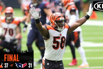 Em jogo eletrizante, Cincinnati Bengals bate Houston Texans no final - The Playoffs