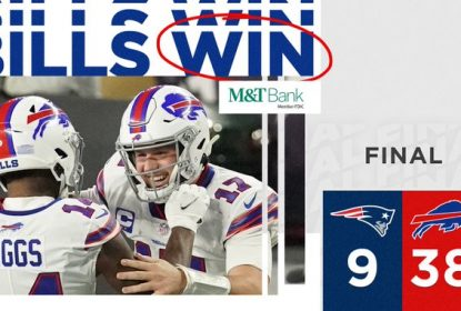 Bills confirmam favoritismo e atropelam Patriots no Gillette Stadium - The Playoffs
