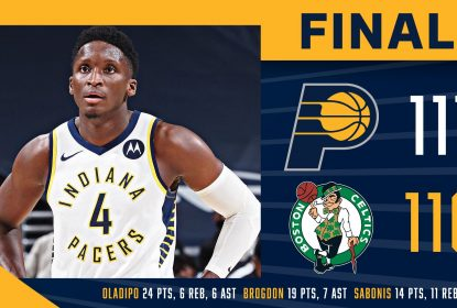 Boston Celtics vence Indiana Pacers com boa atuação de Jayson Tatum - The Playoffs