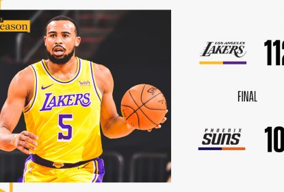 Lakers vencem Suns em noite inspirada de Horton-Tucker - The Playoffs