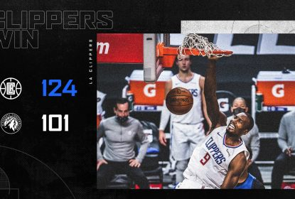 Clippers brilham no ataque a partir do segundo quarto e vencem Timberwolves - The Playoffs