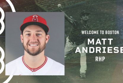 Matt Andriese assina contrato de um ano com o Boston Red Sox - The Playoffs