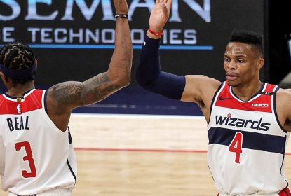 Russell Westbrook sofre lesão muscular e vira desfalque do Washington Wizards - The Playoffs