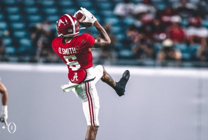 DeVonta Smith quebra recorde, Alabama vence Ohio State e é campeã nacional - The Playoffs