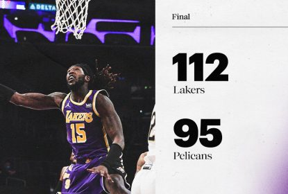 Lakers reagem no segundo tempo e vencem Pelicans - The Playoffs