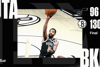 Na ausência de Kevin Durant, Kyrie Irving brilha e Nets vencem Jazz - The Playoffs