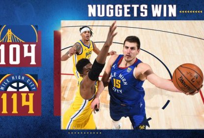 Com mais um triplo-duplo de Jokic, Nuggets vencem Warriors - The Playoffs