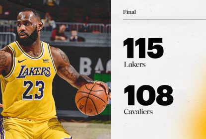 Lakers vencem Cavaliers com 'Lei do Ex' de LeBron em Cleveland - The Playoffs