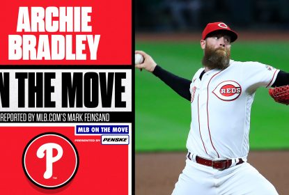 Archie Bradley assina contrato de um ano com o Philadelphia Phillies - The Playoffs