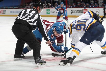 Tirando proveito do power play, Avalanche goleia Blues no Colorado - The Playoffs
