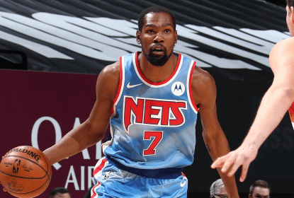 Em grande noite de Kevin Durant, Brooklyn Nets derrota Denver Nuggets com final disputado - The Playoffs