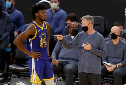 Steve Kerr espera entrosar ainda mais os titulares dos Warriors - The Playoffs