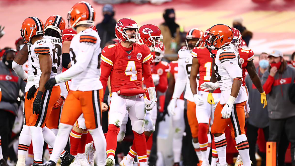 Kansas City Chiefs Cleveland Browns NFL 2020 playoffs divisional round