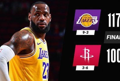 Sob o comando da dupla Davis e LeBron, Lakers dão show e massacram os Rockets - The Playoffs