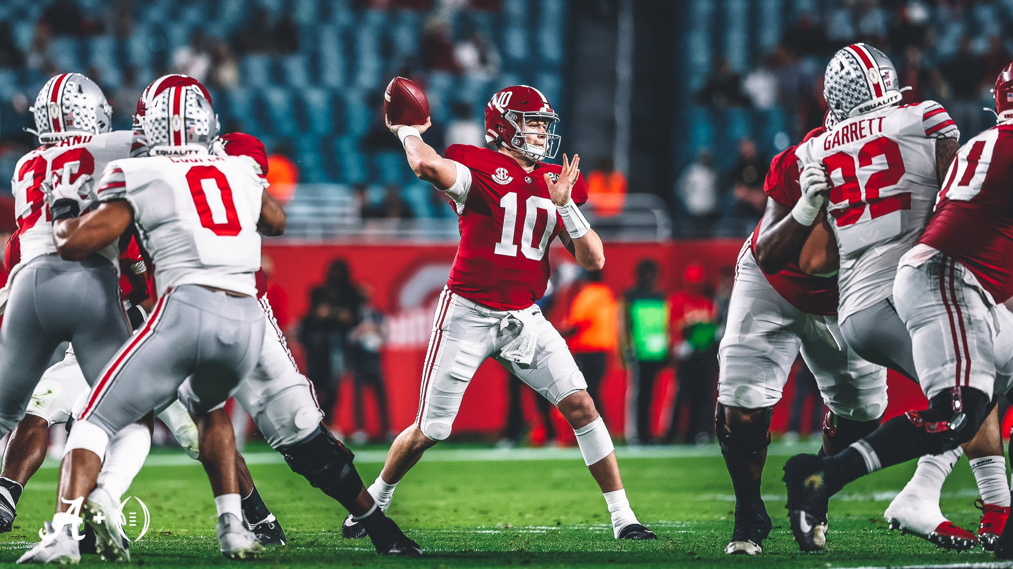 Mac Jones quarterback Alabama Crimson Tide NFL Draft 2021