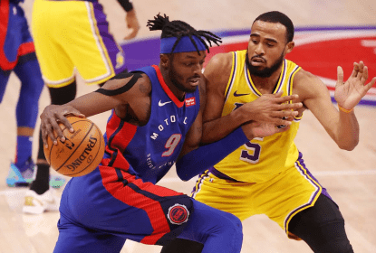 Detroit Pistons aproveita ausência de Anthony Davis e derrota Los Angeles Lakers - The Playoffs