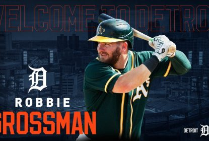 Robbie Grossman assina contrato de dois anos com o Detroit Tigers - The Playoffs