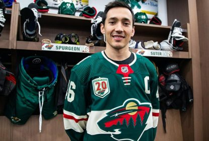 Minnesota Wild anuncia defensor Jared Spurgeon como novo capitão - The Playoffs