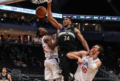 Com duplo-duplo de Antetokounmpo, Bucks superam Clippers - The Playoffs