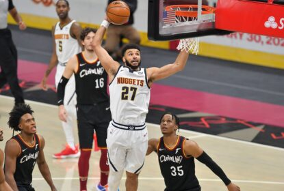 Em noite histórica de Jamal Murray, Nuggets vencem Cavaliers facilmente - The Playoffs