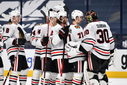 Kane se aproxima de gol nº 400 e Blackhawks vencem Blue Jackets - The Playoffs