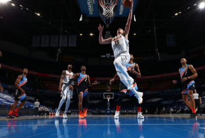 Denver Nuggets domina Oklahoma City Thunder em noite inspirada de Nikola Jokic - The Playoffs