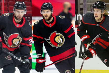 Senators mandam Paquette e Galchenyuk para os Hurricanes - The Playoffs