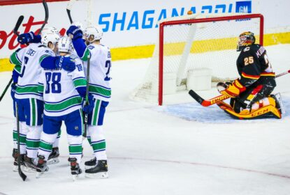 NHL adia mais 3 partidas do Vancouver Canucks - The Playoffs