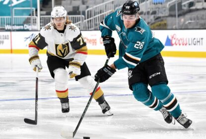 Por COVID-19, jogo entre Golden Knights e Sharks é adiado - The Playoffs
