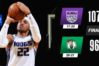 Em partida disputada, Kings arrancam nos minutos finais e batem Celtics - The Playoffs