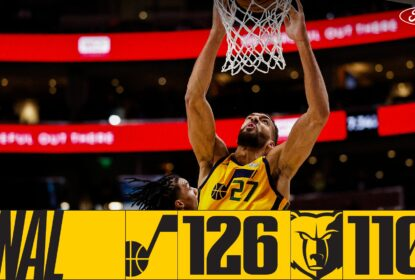 Jazz supera Grizzlies e engata 19ª vitória consecutiva como mandante - The Playoffs