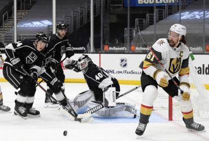 Calvin Petersen fecha o gol e Kings vencem Golden Knights - The Playoffs