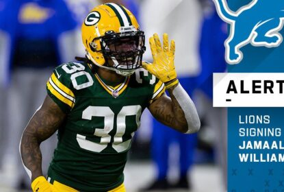 Jamaal Williams assina com Detroit Lions por duas temporadas - The Playoffs