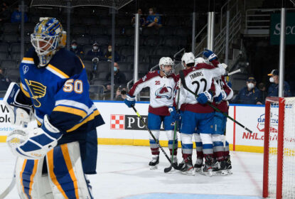 Em estreia de Devan Dubnyk, Avalanche vence Blues - The Playoffs