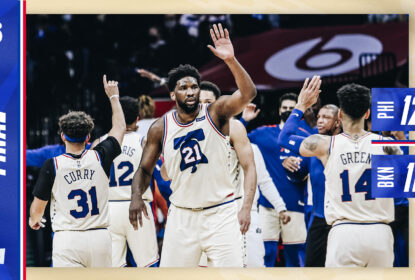 Philadelphia 76ers defende a liderança do Leste e supera Brooklyn Nets - The Playoffs